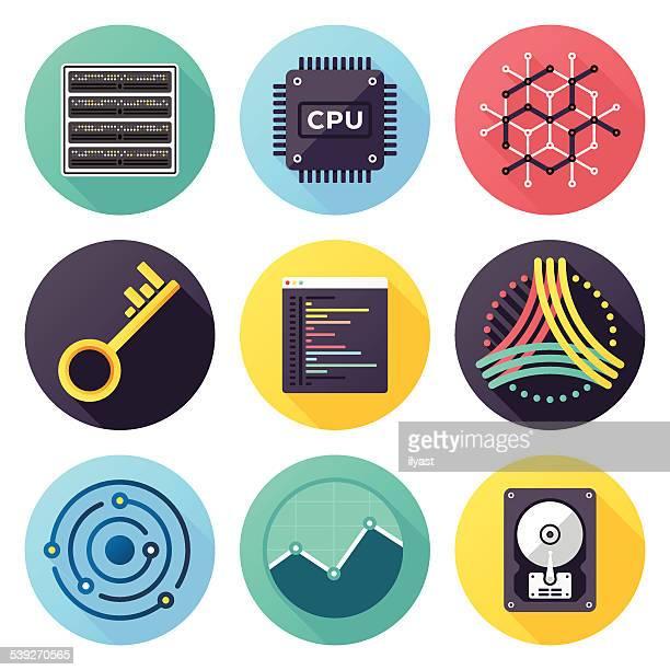 Icone di visualizzazione dei dati