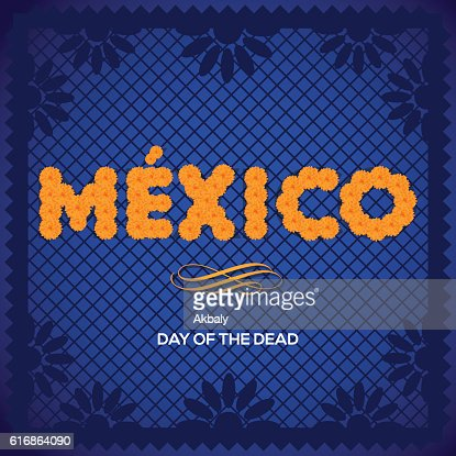 Day Of The Death Background - Copy : Vector Art