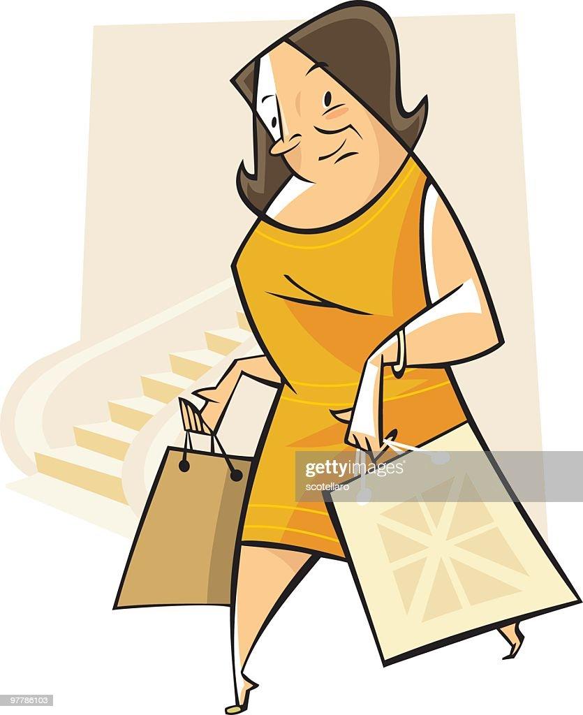 de compras : Vector Art