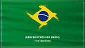 7 de setembro independencia do brasil, Vector Illustration Independence Day of Brazil