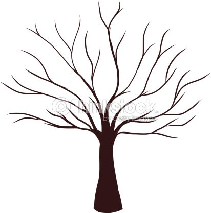 arbre mort sans feuilles clipart vectoriel thinkstock. Black Bedroom Furniture Sets. Home Design Ideas