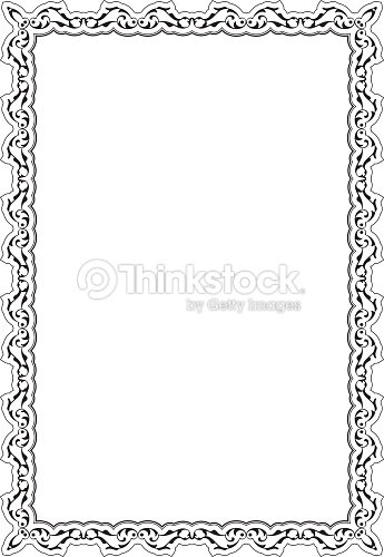 Decor Baroque Nice Frame Vector Art | Thinkstock