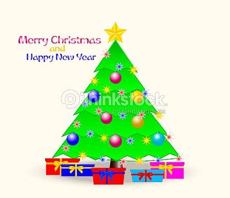 46c9734a55e Decoración árbol De Navidad Con Una Estrella De Oro Adornos De ...