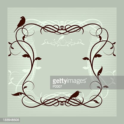 Decorative Frame : Vector Art