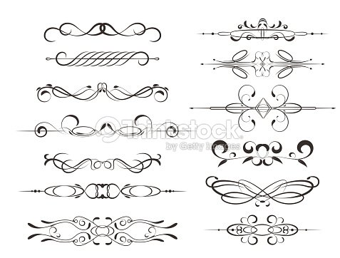 Decorative frames calligraphic design elements or decorations vector decorative frames calligraphic design elements or decorations vector art stopboris Choice Image