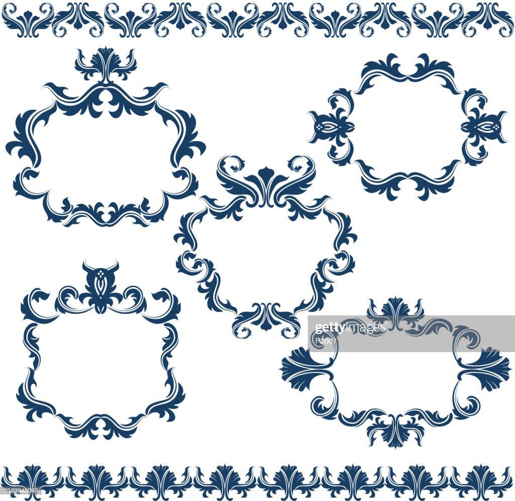 Decorative Frames Set : Vector Art