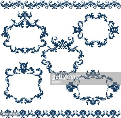 Decorative Frames Set : Vector Art