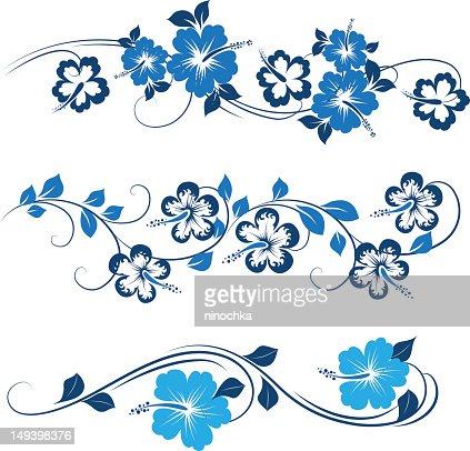 Decorative hibiscus