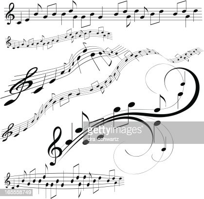Как рисовать ноты для тату