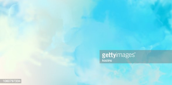 Decorative Watercolor Background : stock vector