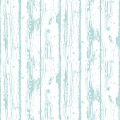 Decorative Wooden Seamless Pattern. Endless light blue background with realistic wood texture. Grained and textured backdrop for decoration, wallpaper, wrapping, digital paper, scrapbooking