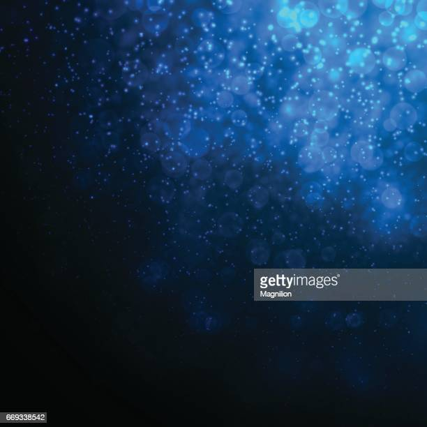 Deep Blue Abstract Underwater Background