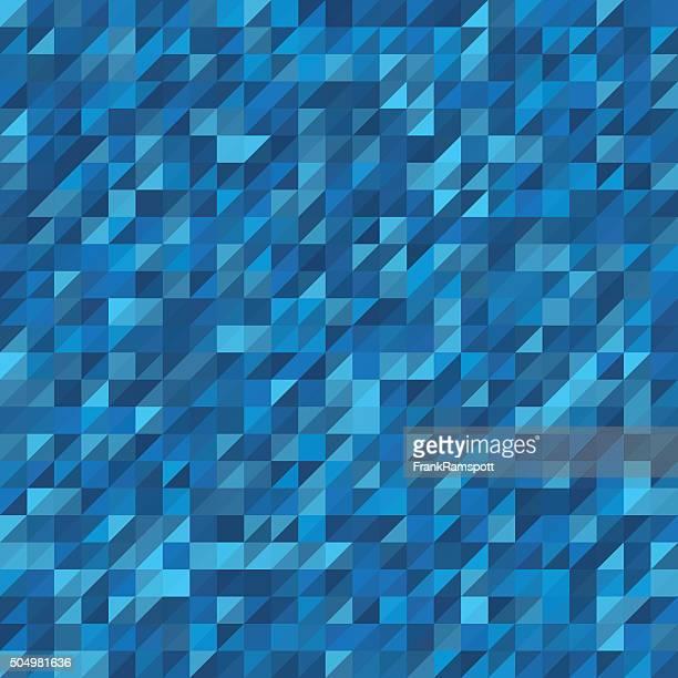Deep Sea Triangle Geometry Pattern