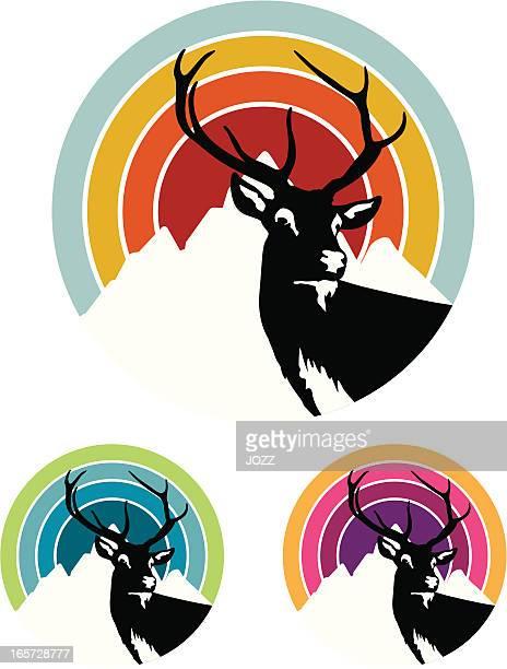 deer retro target