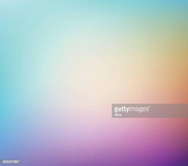 Defocus Multi Color Gradient Stock Vector Background
