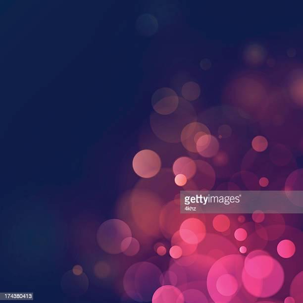 Defocus Vintage Retro Bokeh Romantic Blurry Lights Background