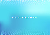 Defocused Abstract Blue Technology Vector Background