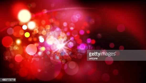 Defocussed Lights Background
