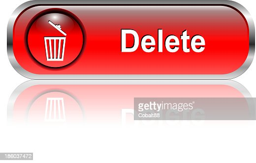 Delete Icon Button Vector Art Getty Images