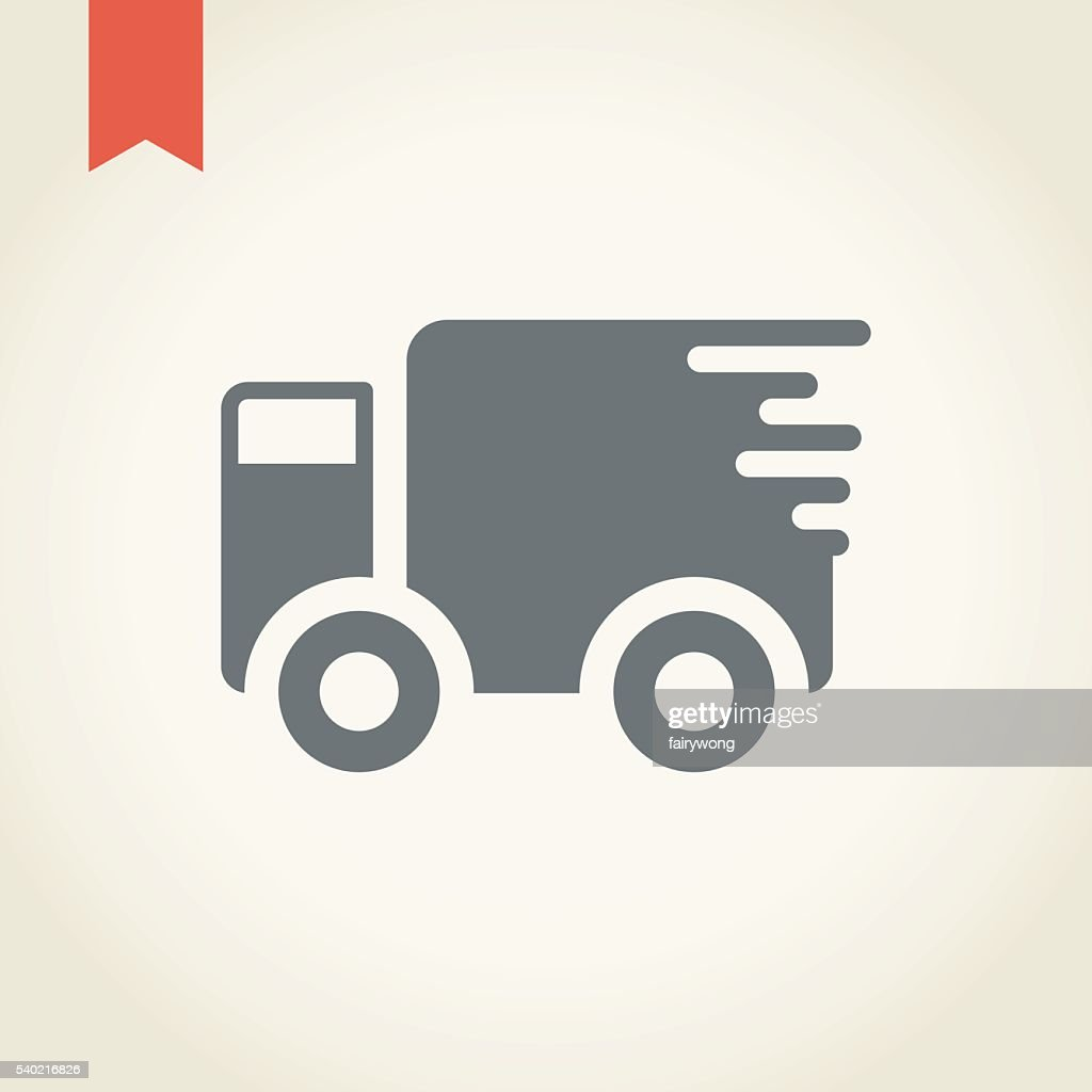 delivery truck icon vector - photo #8