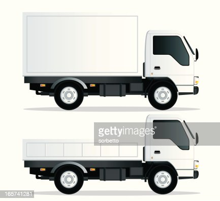 Delivery Truck Vector Art | Getty Images