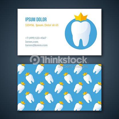 Clínica Dental Plantilla De La Identidad Corporativa Arte vectorial ...