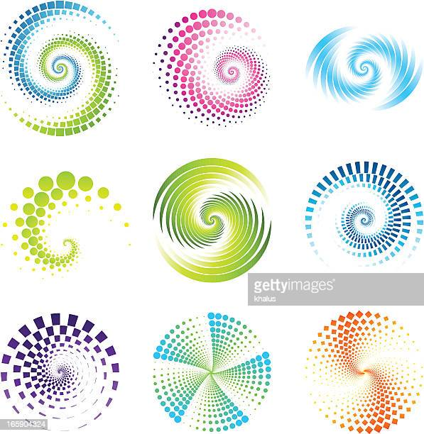 Design Elements | twirl & circle