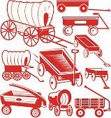 Wagon clip art