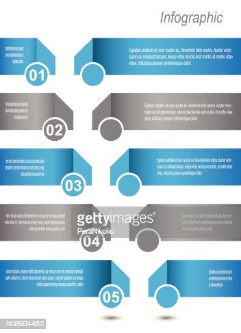Infográfico Design de modelo : Arte vetorial