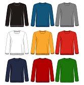 design vector template sweatshirt and hoodie collection for men