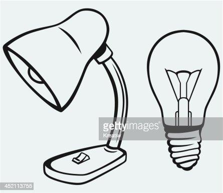 Schreibtischlampe clipart  Desk Schreibtischlampe Vektorgrafik | Thinkstock