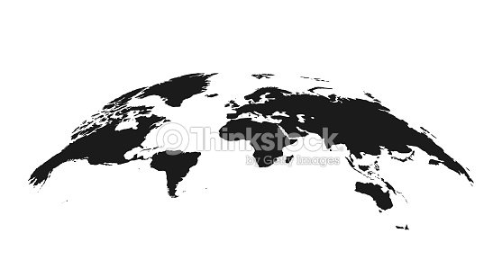 Detailed grey world map mapped on an open globe isolated on white detailed grey world map mapped on an open globe isolated on white background gumiabroncs