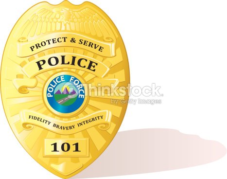 Detailed Police Badge Vector Vector Art Thinkstock