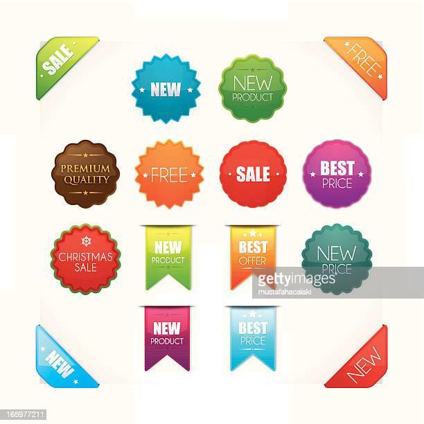 Des badges de promotion