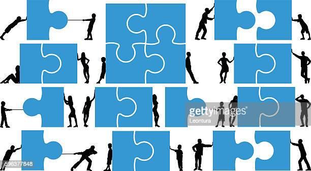 Detailed Puzzles Concept