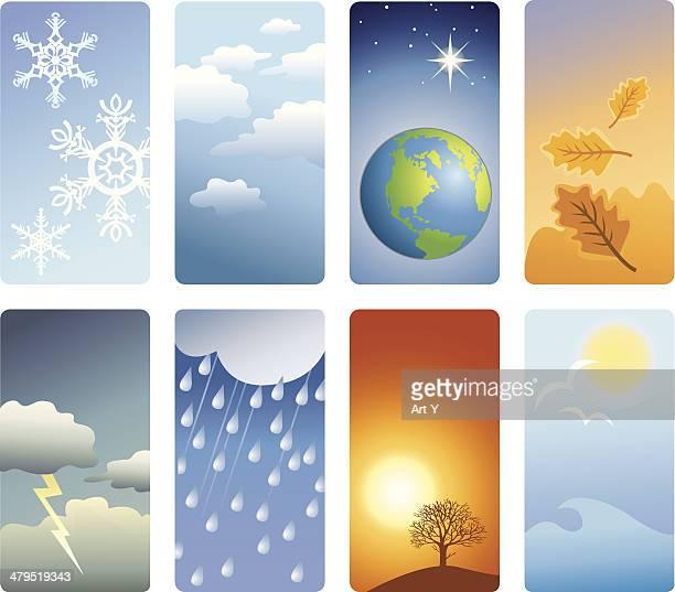 Detailed vignettes - weather