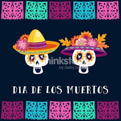 Dia de los muertos day of the dead or halloween greeting card dia de los muertos day of the dead or halloween greeting card invitation m4hsunfo