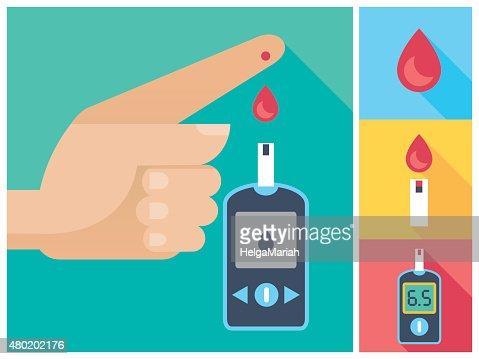 blood glucose prestige strip test