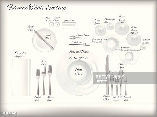 place setting stock illustrations and cartoons getty images. Black Bedroom Furniture Sets. Home Design Ideas