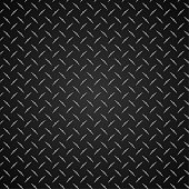 Diamond plate metal vector graphic background pattern, realistic, with subtle and contrasting gray tones