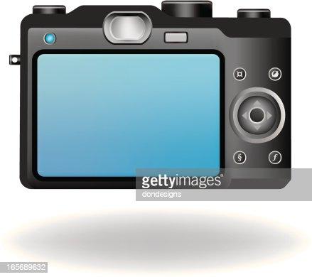digital camera back vector art | getty images