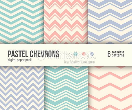 Digital Paper Pack 6 Abstract Seamless Backgrounds Vector