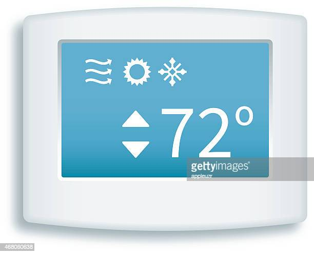 Digital Touch Screen Thermostat