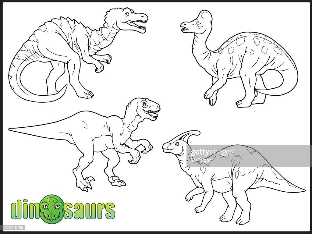 dinosaurs : Vector Art