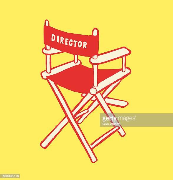 Illustrations et dessins anim s de fauteuil realisateur for Chaise de realisateur