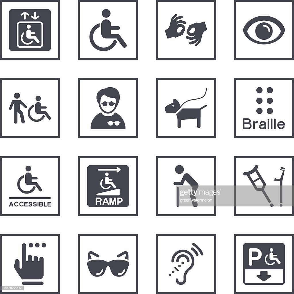 List Of Synonyms And Antonyms Of The Word Disability Symbols