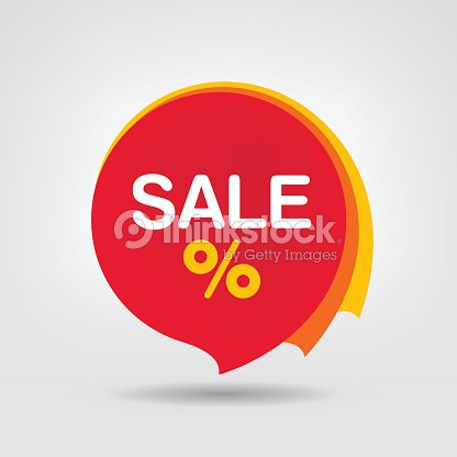 Discount Sticker Isolated Vector Illustration Seasons Sale Tag Special Offer Banner The Modern Colorful Design Of Label