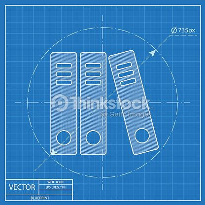 Document folders business blueprint icon vector art thinkstock document folders business blueprint icon vector art malvernweather Choice Image