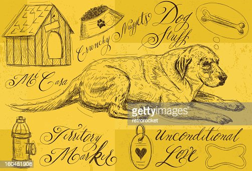 Dog stuff : Vector Art