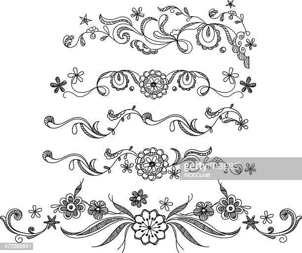 Doodle  Border Designs